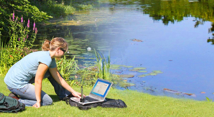 Water level data logger is used for wireless water level data collection.