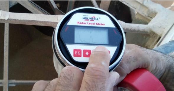 radar level sensors are used for liquid level measurement