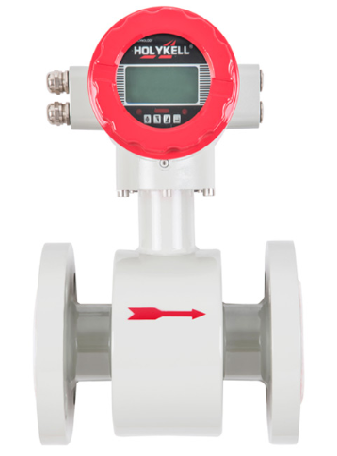 Electromagnetic flow meters are used for flow measurement