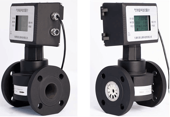 Ultrasonic gas flow meters are used for gas measurement