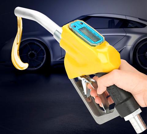 Flow meter diesel is used for flow measurement