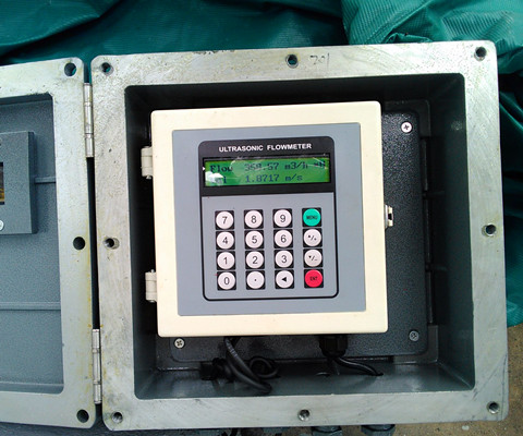 Ultrasonic liquid flow meters are used for flow measurement