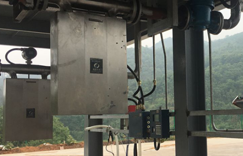 Gas mass flow meters are used for flow measurement