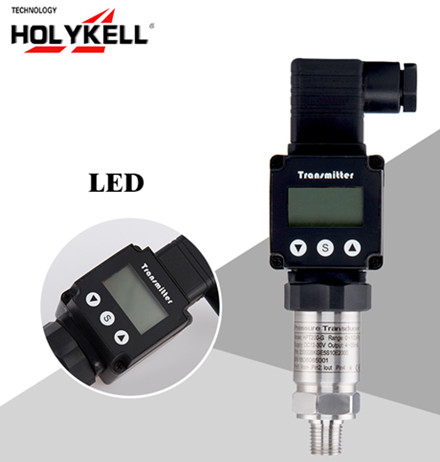 pressure sensors with display are used for pressure measurement